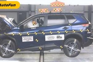 Mengejutkan! Hasil Uji Tabrak Nissan X-Trail 2021 di AS Hanya Raih 2 Bintang