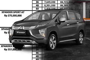 Skema Kredit Mitsubishi Xpander dengan Diskon PPnBM 25%, Cicilan Termurahnya Rp4 Jutaan!