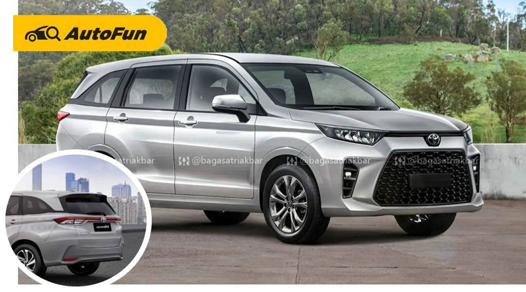 Begini Render Tampilan Toyota Avanza 2022, Semakin Mirip SUV 01