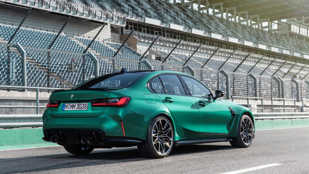 2021 BMW M3 Competition Exterior 013