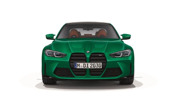 2021 BMW M3 Competition Exterior 005