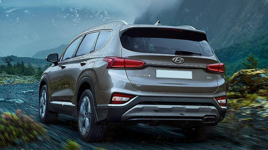 Hyundai Santa Fe 2019 Exterior 014