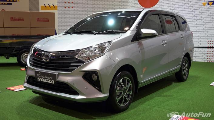 2021 Daihatsu Sigra Exterior 001