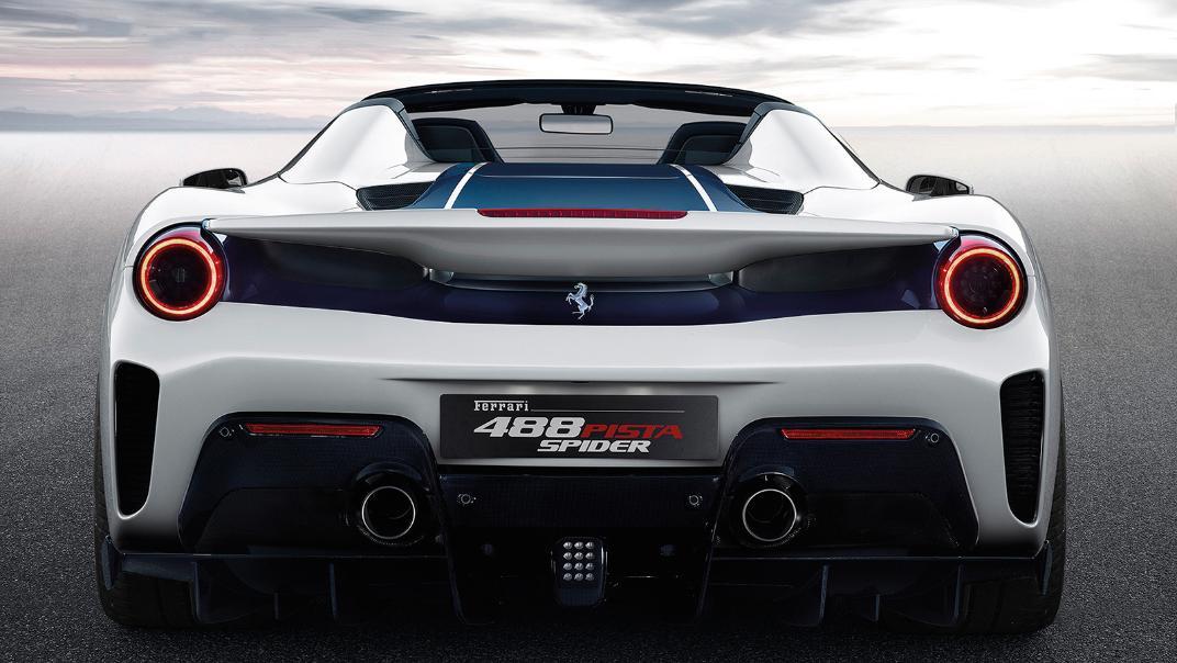 Ferrari 488 Pista Spider 2019 Exterior 003