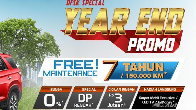 Minimal uang muka hanya Rp 3 Juta, promosi akhir tahun DFSK Glory 560 resmi dimulai! 01