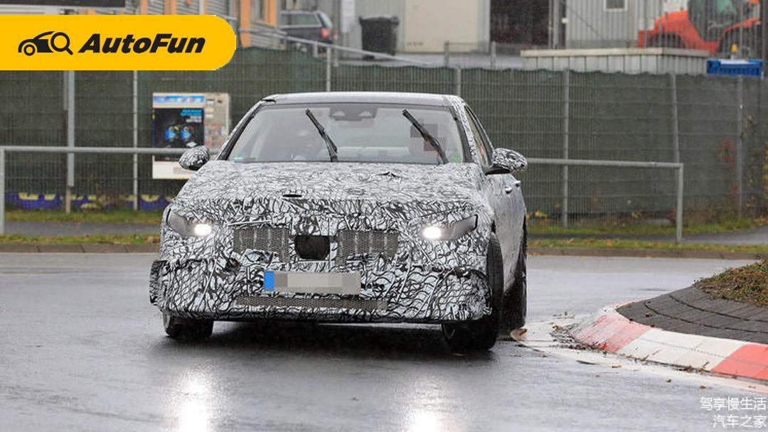 Tertangkap Kamera: Mercedes Benz AMG C43 Usung mesin 4 Silinder 2.0T 01