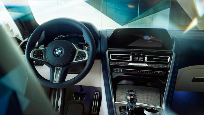 BMW 8 Series Coupe 840i Gran Coupe Interior 003