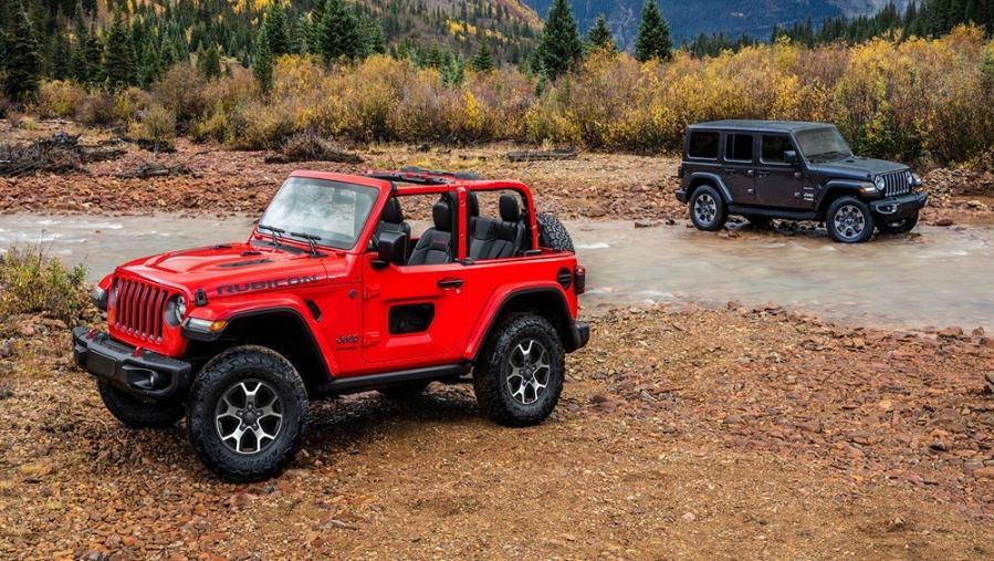 Jeep Wrangler 2019 Exterior 001