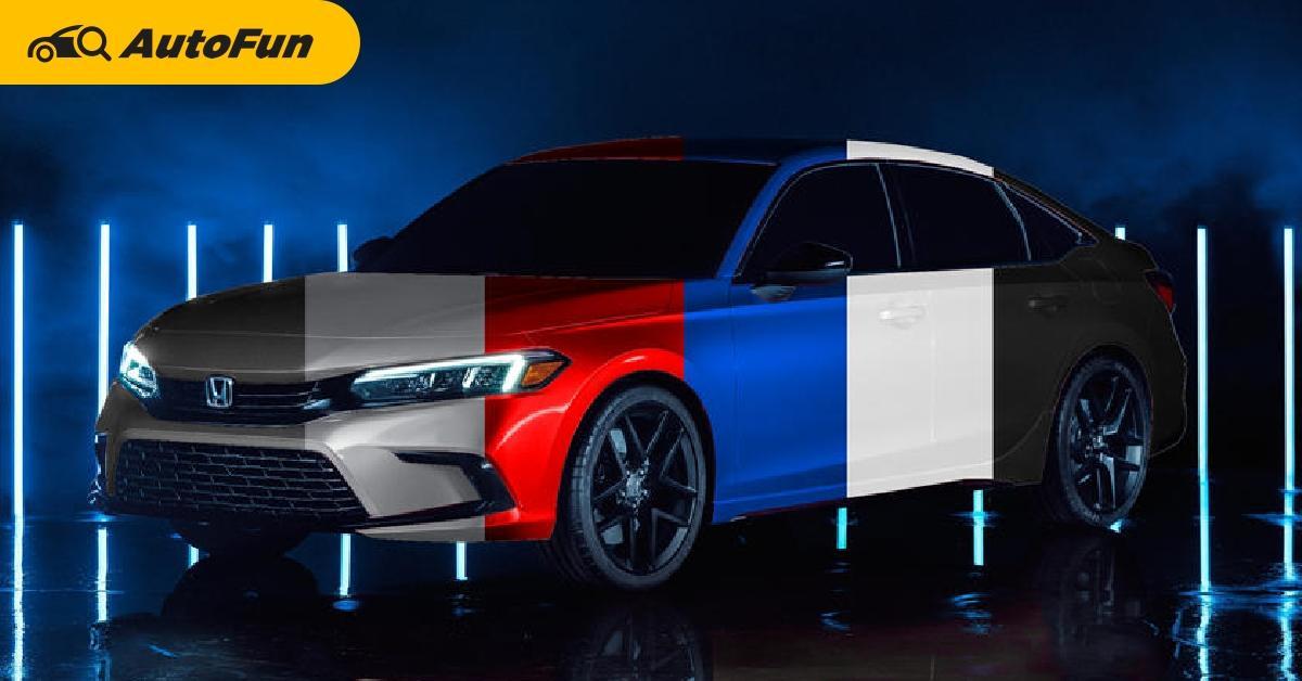 Honda Civic Model Year 2022 Meluncur 28 April Secara Global, Pilihan Warna dan Spesifikasinya Anak Muda Banget 01
