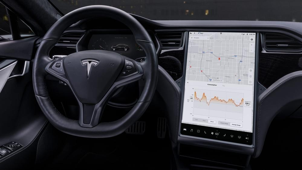 Tesla Model S 2019 Interior 002