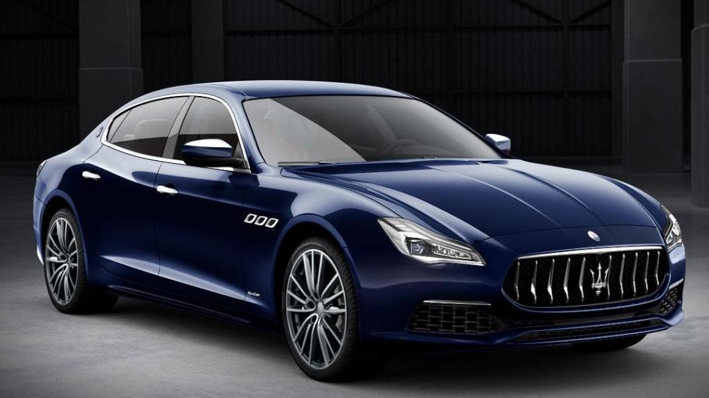 Maserati Quattroporte 2019 Exterior 003