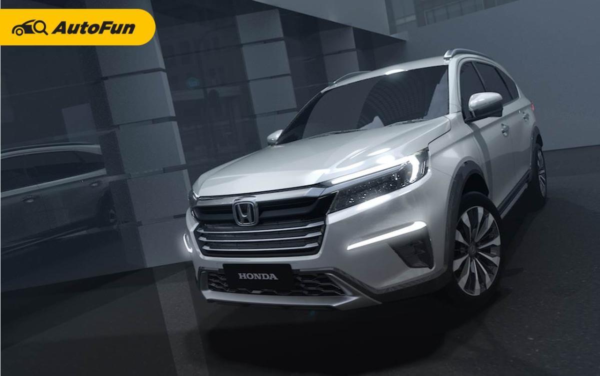 Menerka Honda N7X Concept Calon All New BR-V, Siapa Saja Lawannya? 01