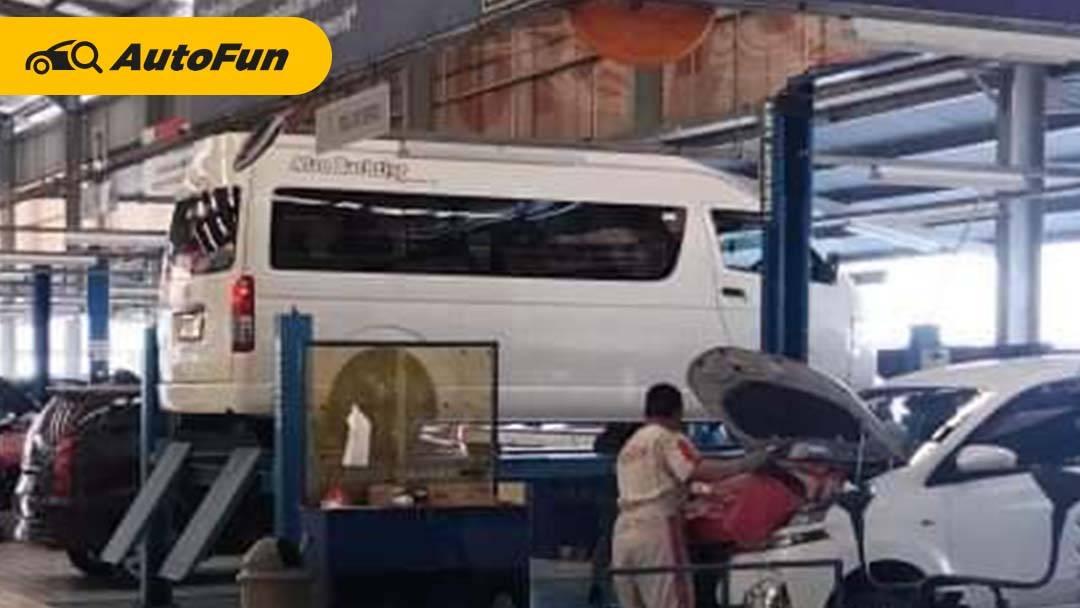 Mau Coba Bisnis Travel, Segini Biaya Service Toyota Hiace Commuter Sampai 100.000 Km 01