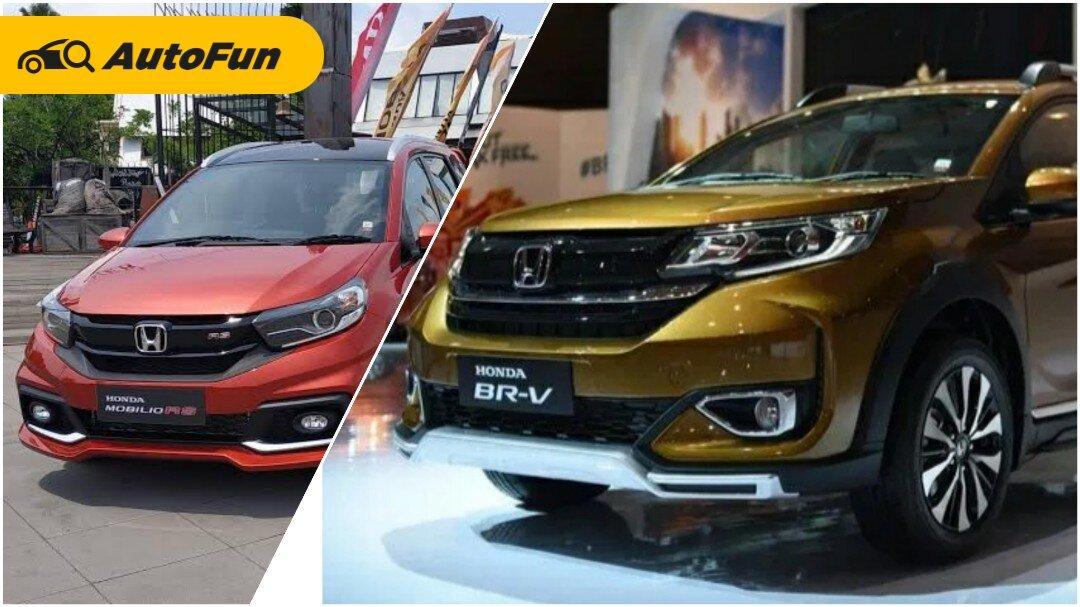 Harga Beda Rp30 Jutaan dan Basis Sama, Mending Beli Honda Mobilio atau Honda BR-V? 01