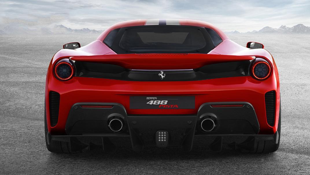 Ferrari 488 Pista 2019 Exterior 007