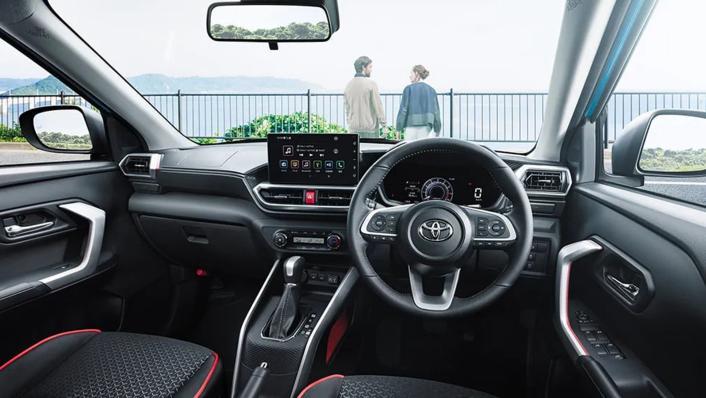 2021 Toyota Raize Upcoming Version Interior 002