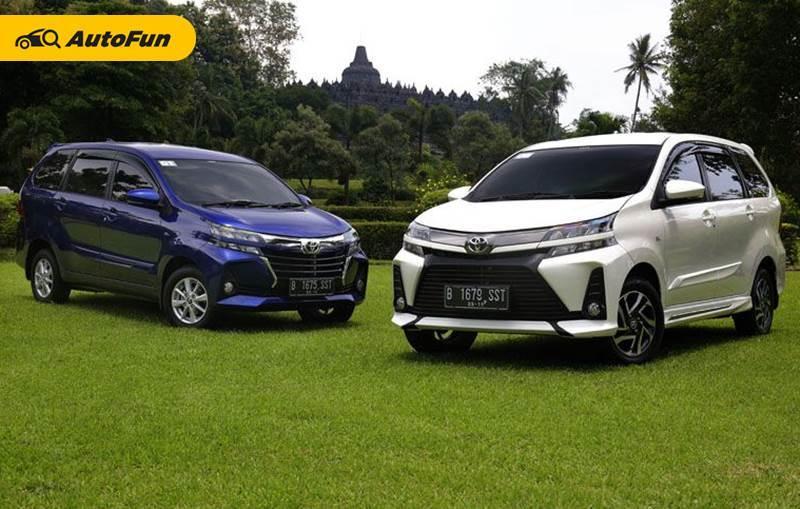 Toyota Avanza dan Avanza Veloz 2021