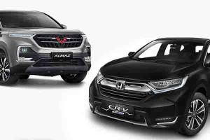 Galau, Ingin Beli Honda CR-V Atau Wuling Almaz? Ketahui Dulu Perbandingannya