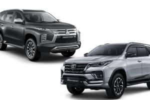 September 2021, Toyota Fortuner Kembali Mengganas Tekuk Mitsubishi Pajero Sport