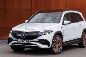 Debut SUV Listrik 7-Seater Mercedes-Benz EQB Yang Akan Dibuat di China