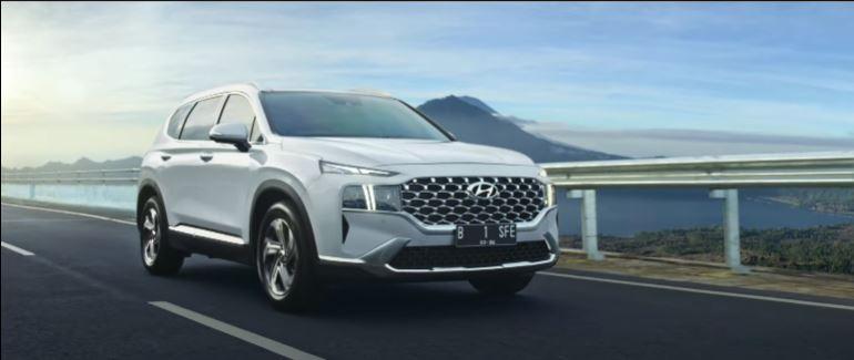 Harga Hyundai Santa Fe 2021 Mulai Rp569 Juta, Siap Lengserkan Honda CR-V dan Mitsubishi Pajero Sport? 02