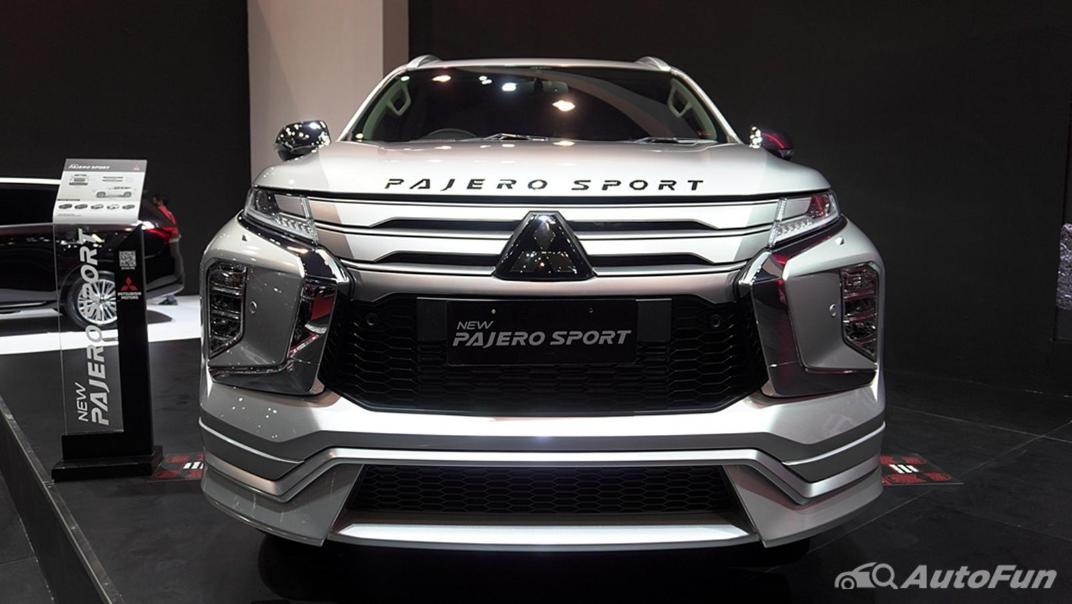 2021 Mitsubishi Pajero Sport Exterior 002