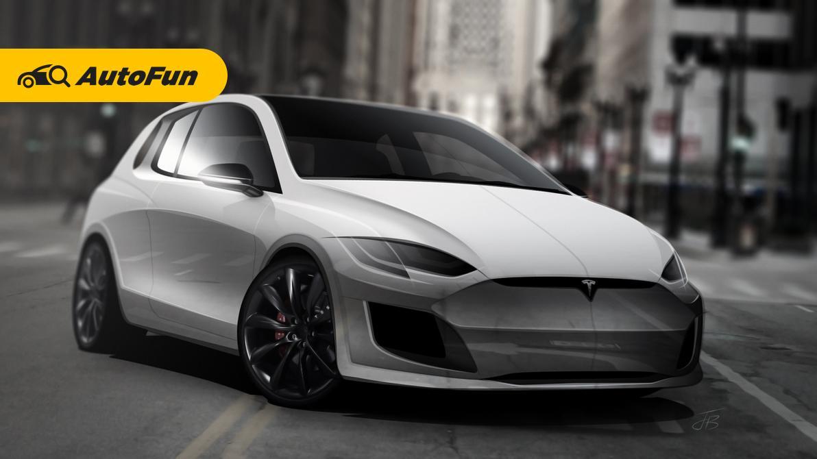 pemerintah tengah 'menggoda' Tesla untuk bisa masuk Indonesia. Tesla akan melunculkan model lebih mudah dari model 3 di Indonesia? 01
