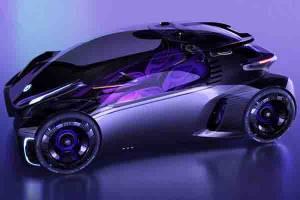 MG Maze, Mobil Konsep Terbaru MG Paduan Antara Dunia Game dengan Tampilan Futuristik!
