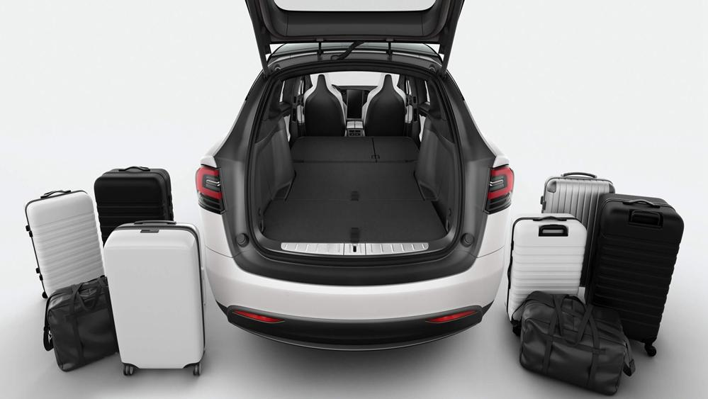 Tesla Model X 2019 Interior 011