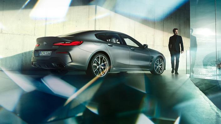 BMW 8 Series Coupe 840i Gran Coupe Exterior 006