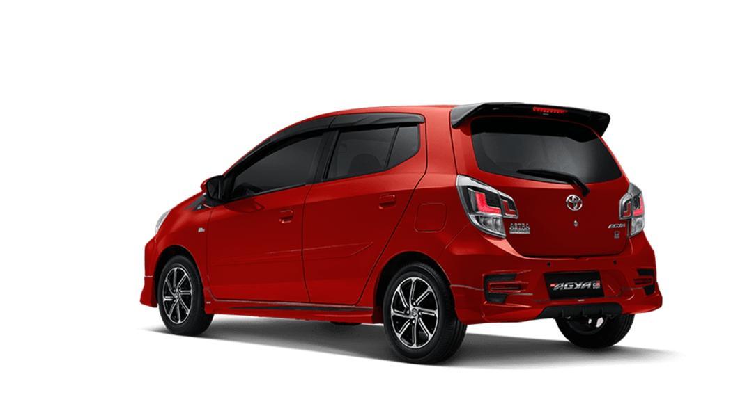 2021 Toyota Agya 1.2 GR Sport A/T Exterior 007