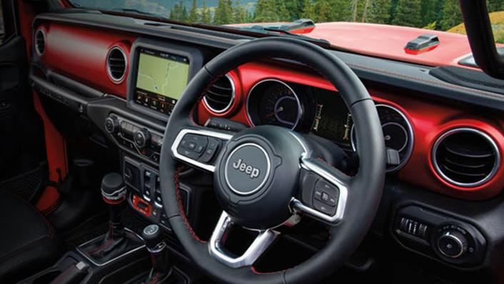 2021 Jeep Gladiator Interior 001