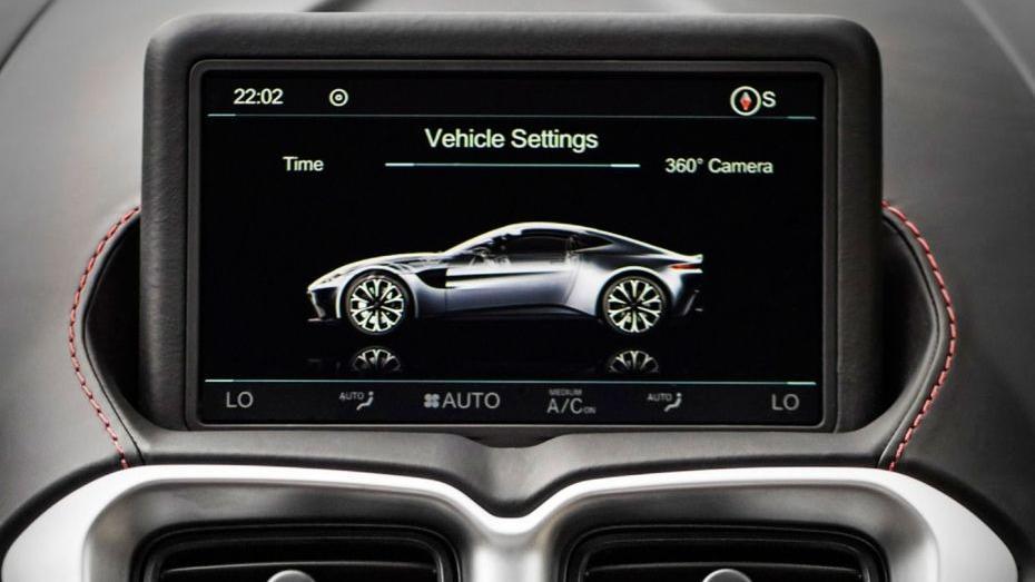 Aston Martin Vantage 2019 Interior 003