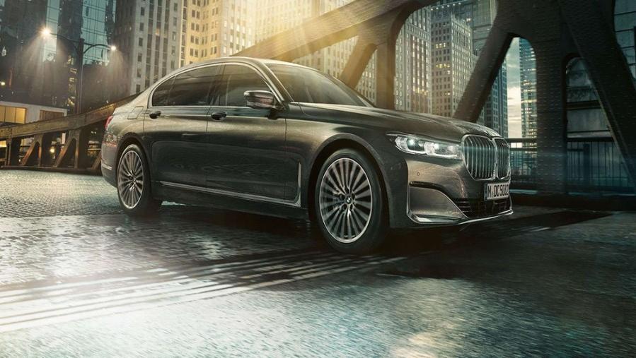 BMW 7 Series Sedan 2019 Exterior 014
