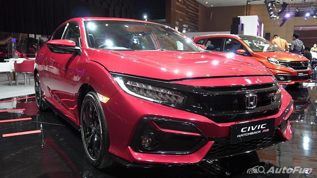 2021 Honda Civic Hatchback Exterior 002