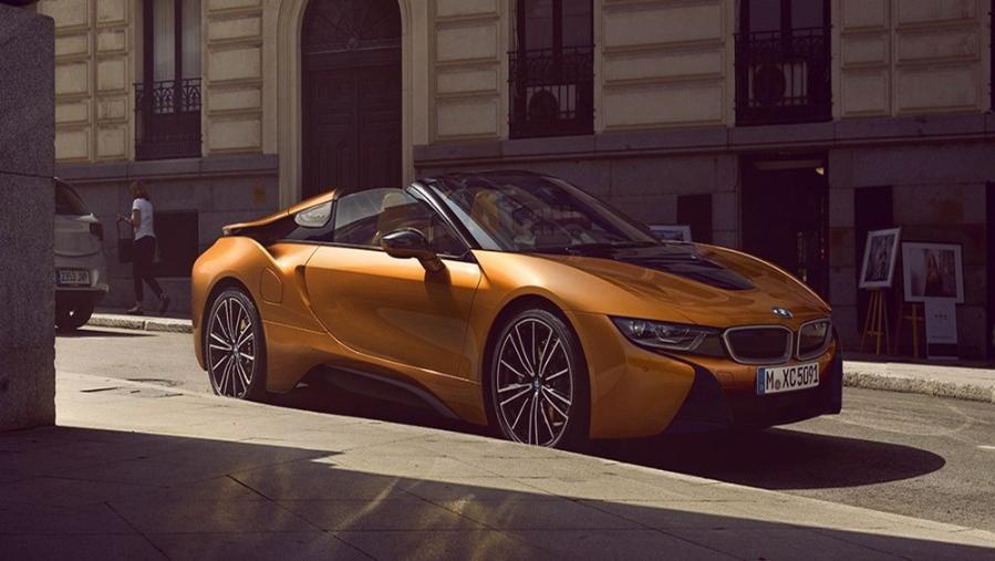 BMW I9 Roadster 2019 Exterior 002