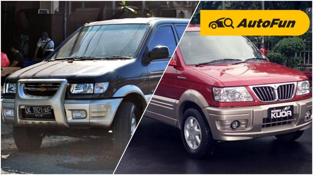Berburu MPV Bensin Rp50 Jutaan, Mending Beli Chevrolet Tavera Daripada Mitsubishi Kuda? 01