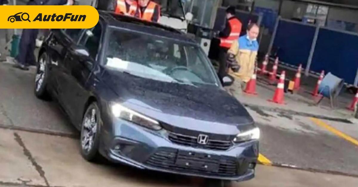 Sering Muncul di China, Akankah Honda Civic 2022 Meluncur Lebih Awal di Sana? 01