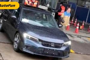 Sering Muncul di China, Akankah Honda Civic 2022 Meluncur Lebih Awal di Sana?