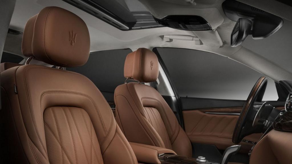 Maserati Quattroporte 2019 Interior 013