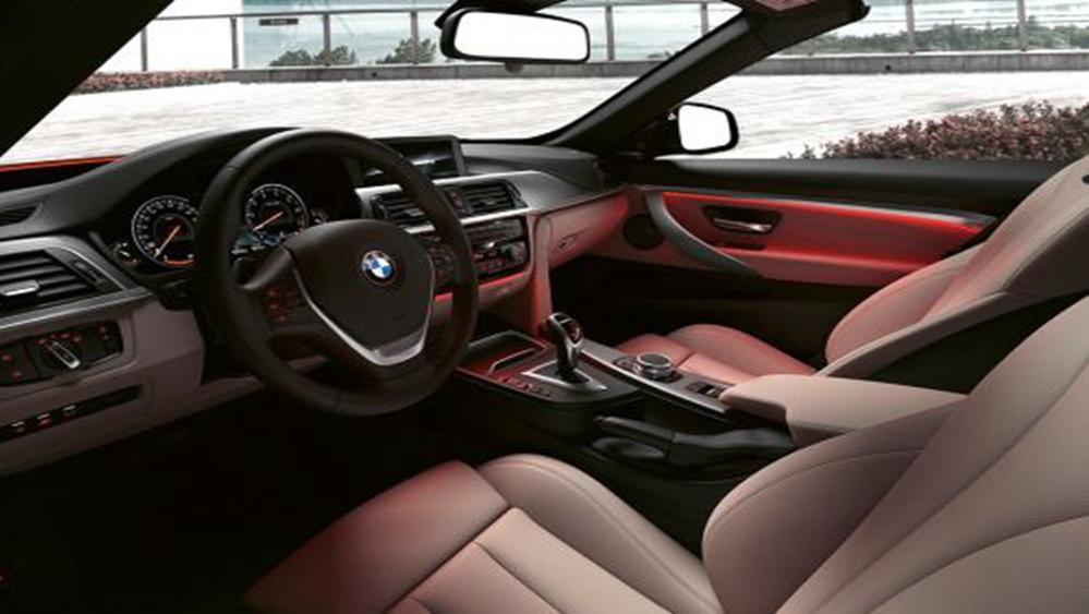 BMW 4 Series Convertible 2019 Interior 002