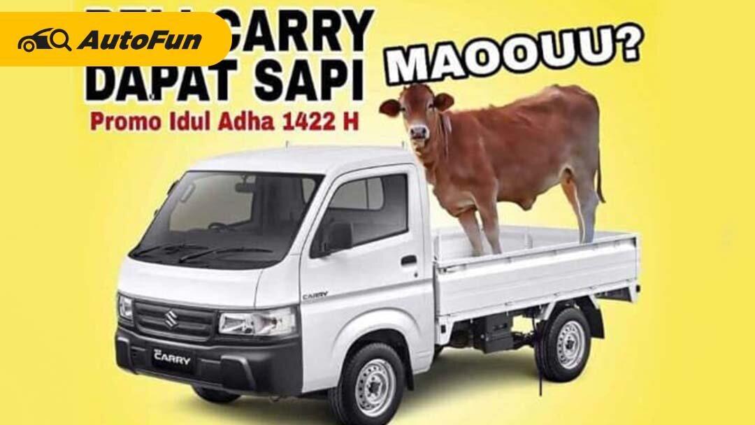 Beli Suzuki New Carry Sekarang, Bonus Seekor Sapi Untuk Qurban! 01
