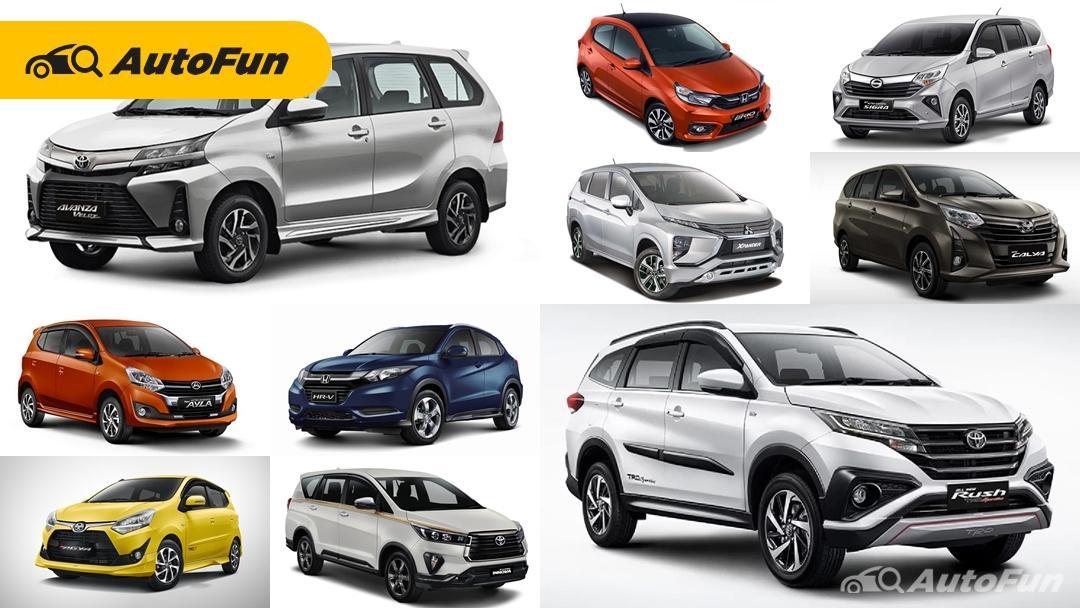 Daftar 10 Mobil Terlaris Maret 2021, Penjualan Toyota Avanza dan Toyota Rush Meroket Berkat Diskon PPnBM 01