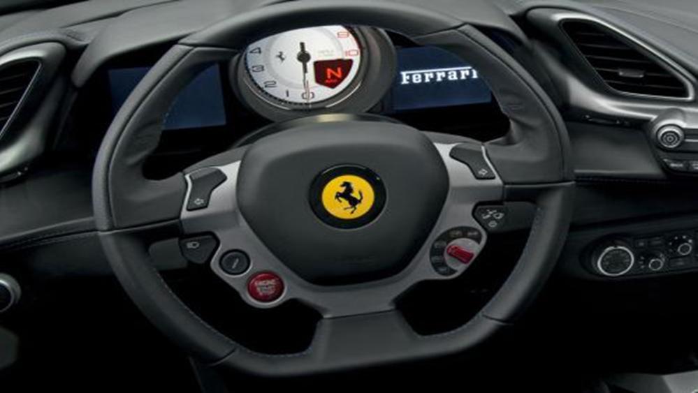 Ferrari 488 Spider 2019 Interior 002