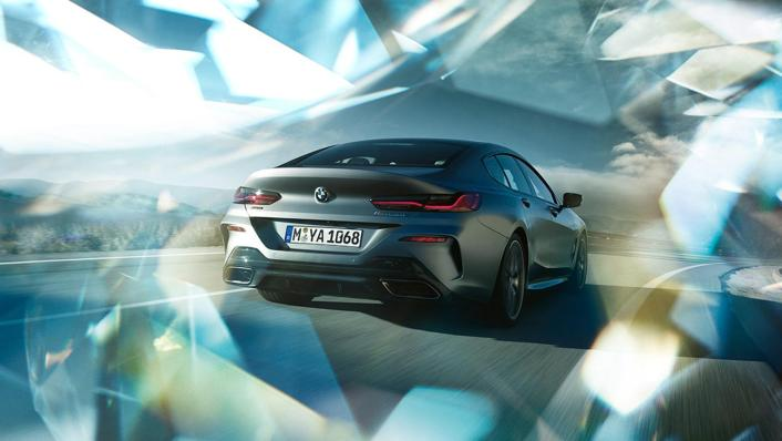 BMW 8 Series Coupe 840i Gran Coupe Exterior 008