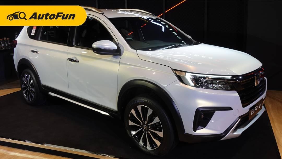 Diproduksi di Indonesia Buat Tujuan Ekspor, Honda BR-V 2022 Juga Disiapkan Versi Hybrid 01