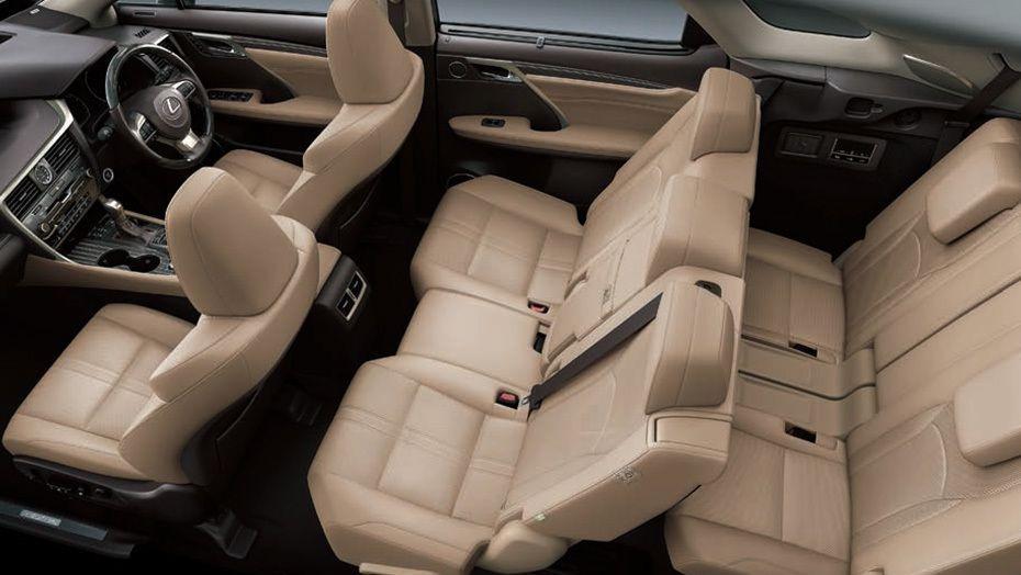 Lexus RX 2019 Interior 007