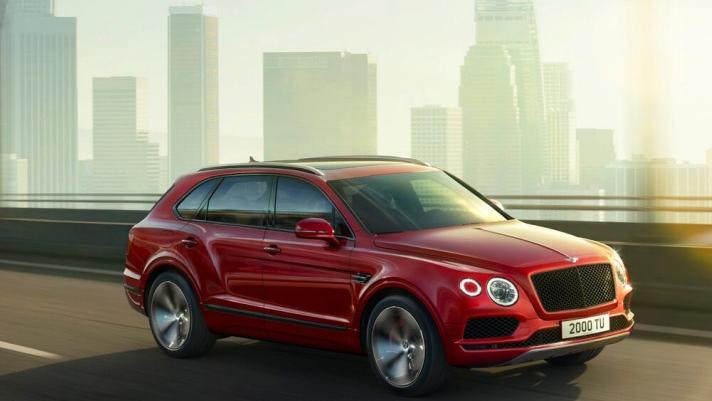 Bentley Bentayga 2019 Exterior 021