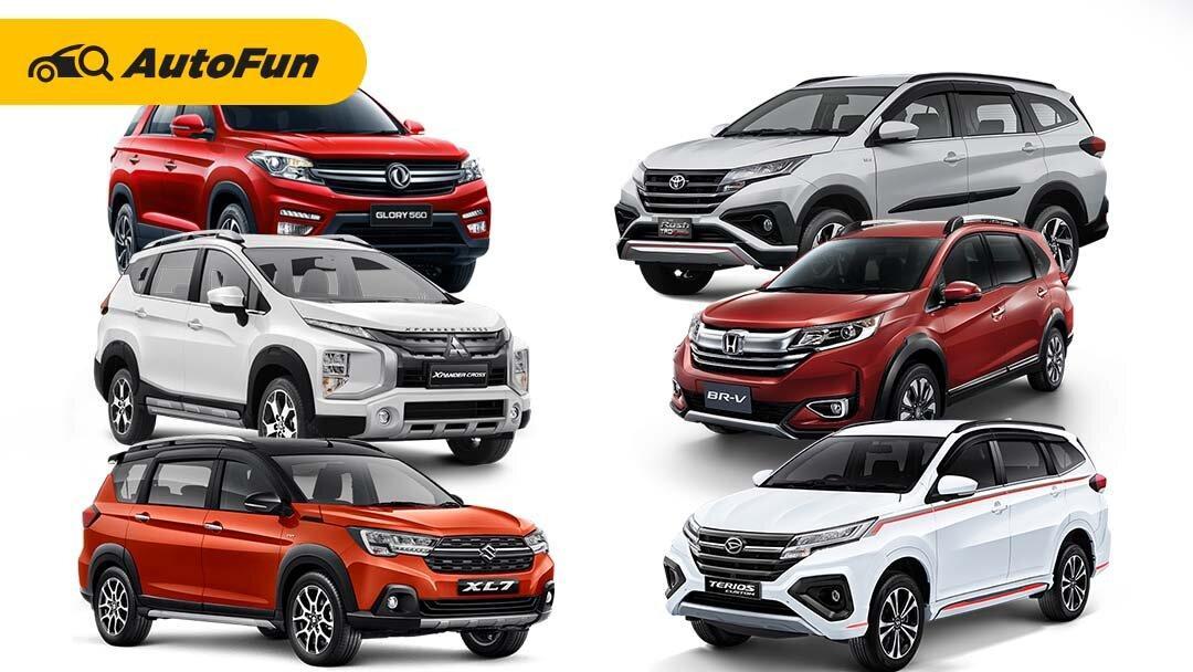 Deretan Low SUV 7-Seater Terlaris Selama April 2021, Toyota Rush Masih Betah di Posisi Pertama 01