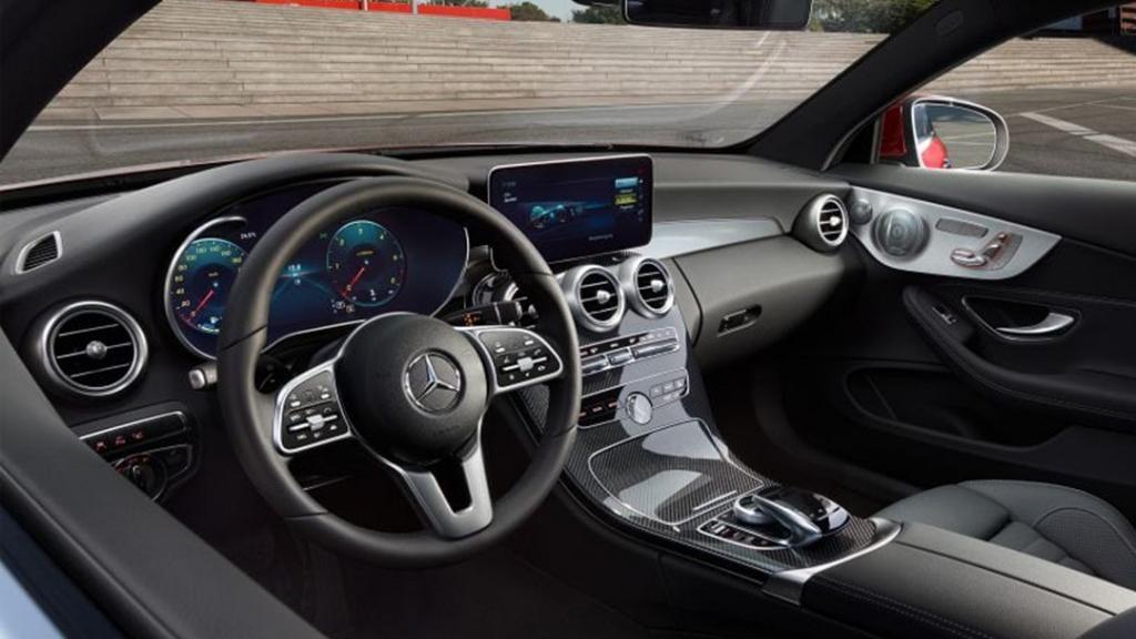 Mercedes-Benz C-Class Coupe 2019 Interior 012